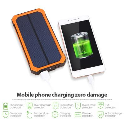 EM laptop portable energy panel cell power bank solar phone charger